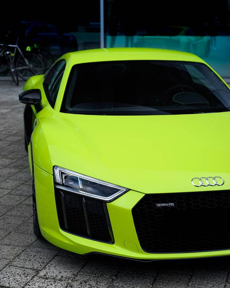 R8 V10 Plus, Audi R8 V10, Dream Cars, Lime, Motorcycles, Vehicles,  Motorbikes, Biking, Car