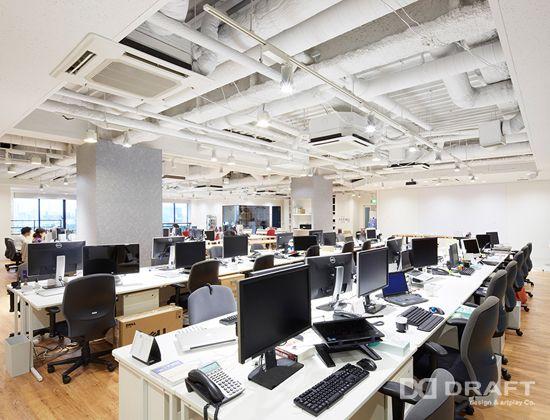 Works 株式会社エニグモ オフィスデザイン・店舗デザインなら株式会社ドラフトへ Office