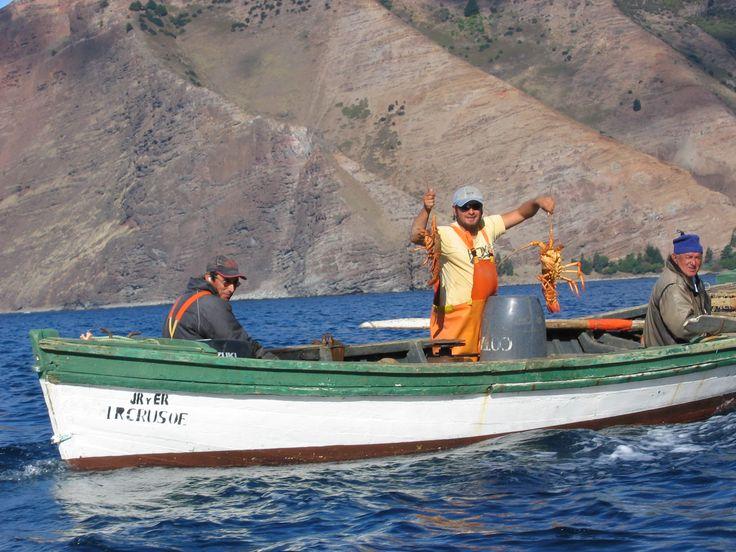 Pescadores Juan Fernandez