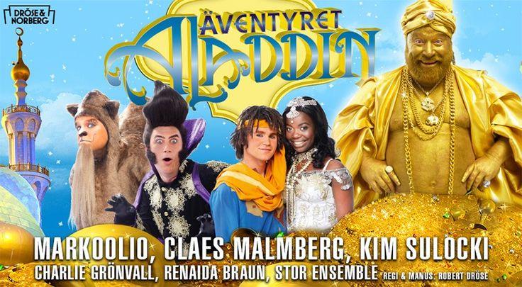 Äventyret Aladdin | Dröse och Norberg