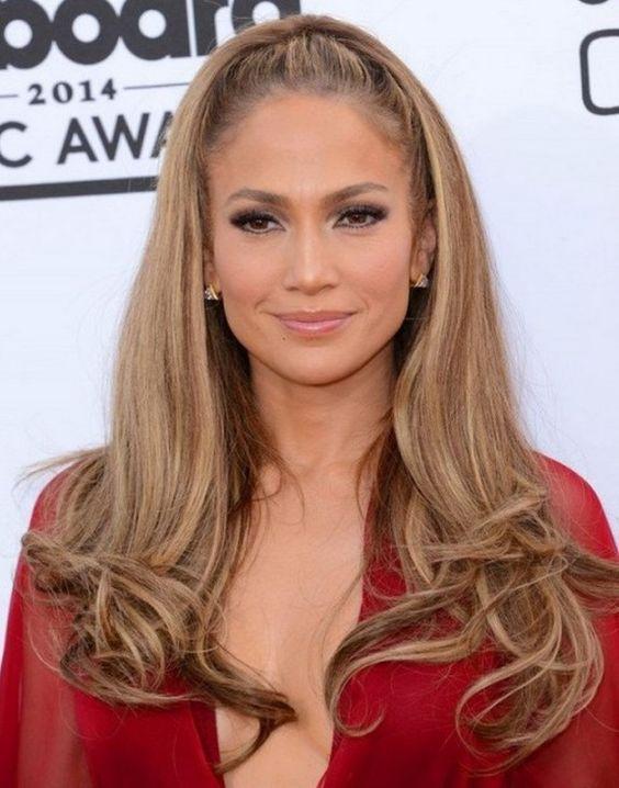 Jennifer Lopez Açık Kahve Karamel