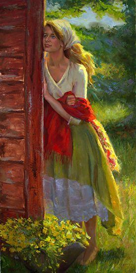 Far Away by Michelle Murray Oil 36 x 18