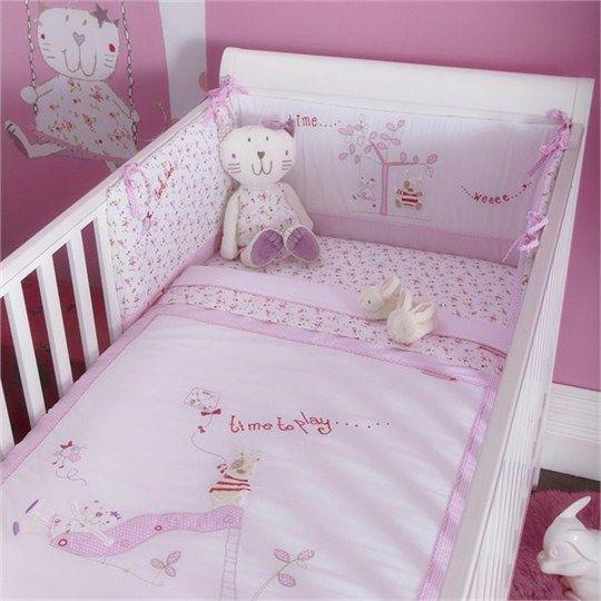 Baby Fleur Cot Bed Bumper
