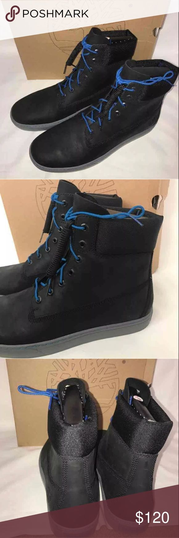 New Timberland earth keepers men's boots SZ 12 New Men's SZ 12 Timberland earth keepers 2.0 cupsole 6in boots Black Comes with blue laces and black laces Timberland Shoes Boots