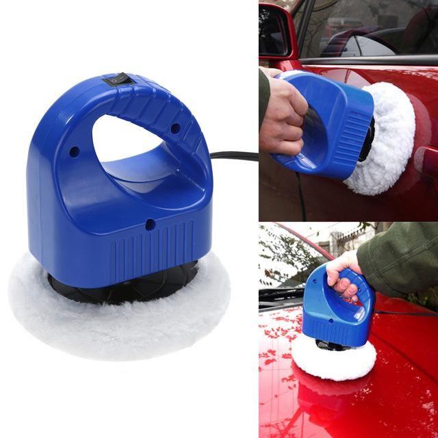 "DC 12V Portable Car Auto Polisher Car Wax Polishing Machine Mini 6"" Random orbital polisher Waxer Car Care Tools"