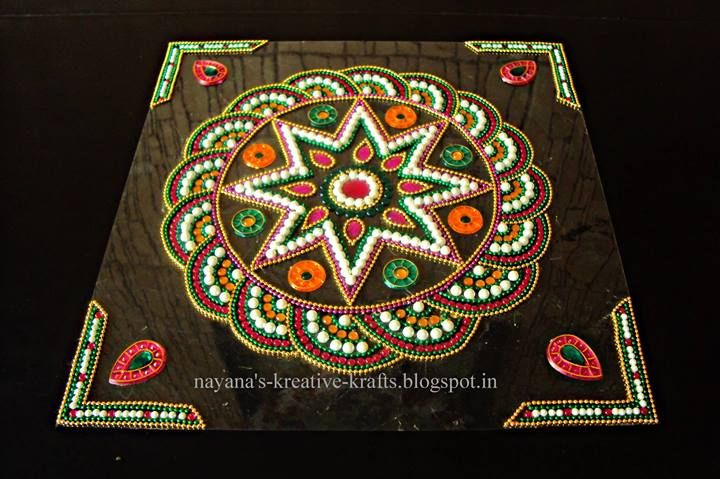 1000 images about kundan rangoli on pinterest online for Agal vilakku decoration