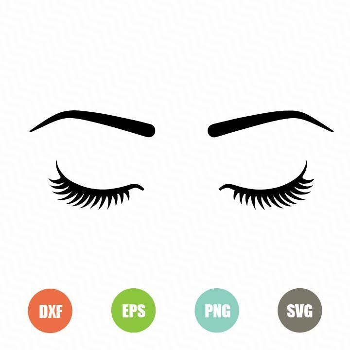 Free Eyelashes Svg Topfreedesigns Cricut Free Eye Lash Svg Free Svg