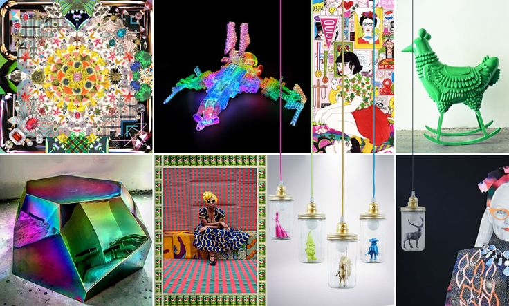 Stylish kitsch: playful maximalism in Maison&Objet's theme 'House of Games' #MO16 #maisonetobjet #maisonobjet #houseofgames #trends #interiortrends #interiordesign #design #decoration #moodboards #collages #styling #kitsch #colour #color #maximalism #curiosities #playful