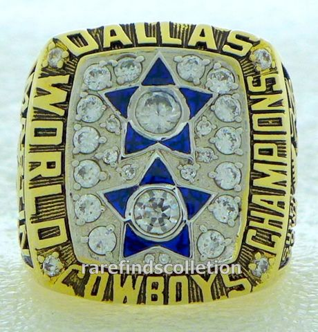 NFL 1977 Dallas Cowboys Super Bowl XII Championship Ring.