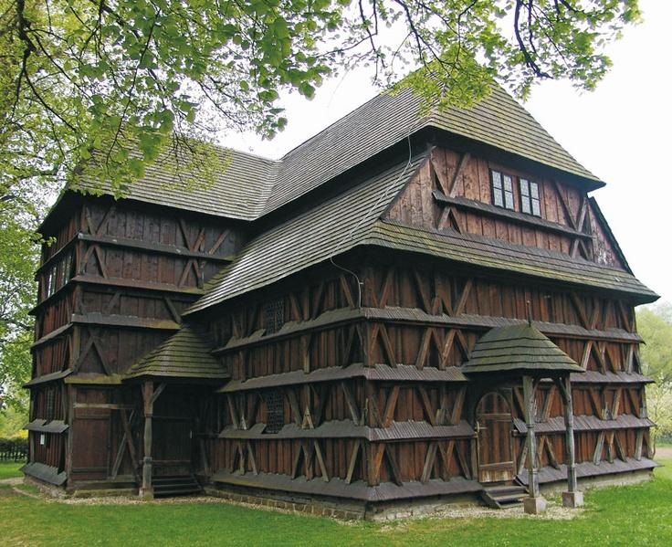 HRONSEK - Wooden Church  in the Carpathian Mountain Area