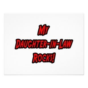 daughter in law quotes  | Quotes About Daughters In Law | My Daughter-in-law Rocks >> Wedding ...