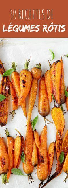 Carottes, panais, patates douces... 30 recettes de légumes d'automne rôtis trop yummy !