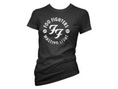 Foo Fighters   Womens Stencil T-Shirt w/ Tour Dates