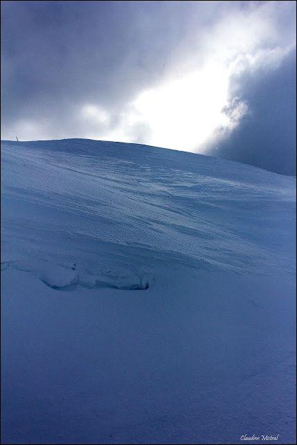 L'oeil et les mots: Un jour à la montagne en hiver