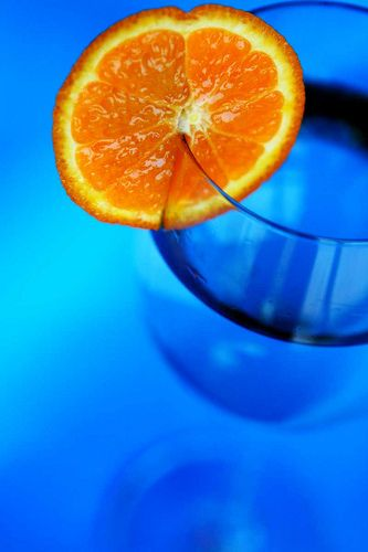 Blue Orange by chumq, via Flickr