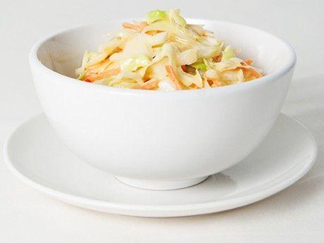 Vegan coleslaw.  Recipe is in Dutch.