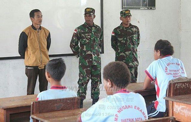 Putra Daerah Kampung Erambu Tergabung dalam Satgas Pamtas Yonif 407/PK http://www.tniad.mil.id/?p=175126