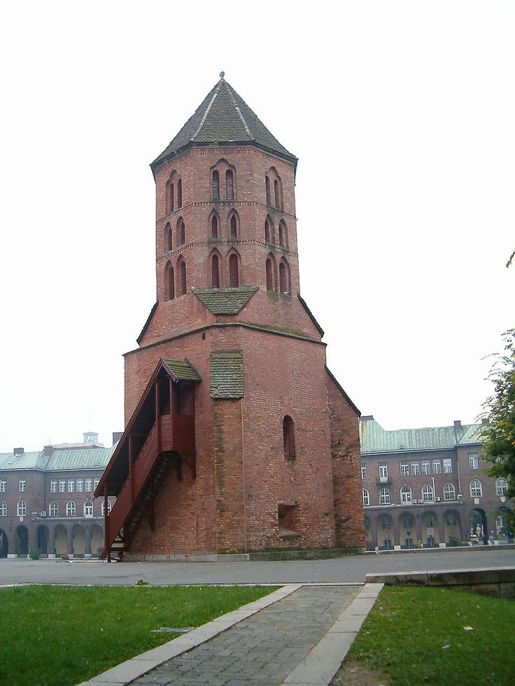 Szeged, Hungary - Domotor tower 11th century