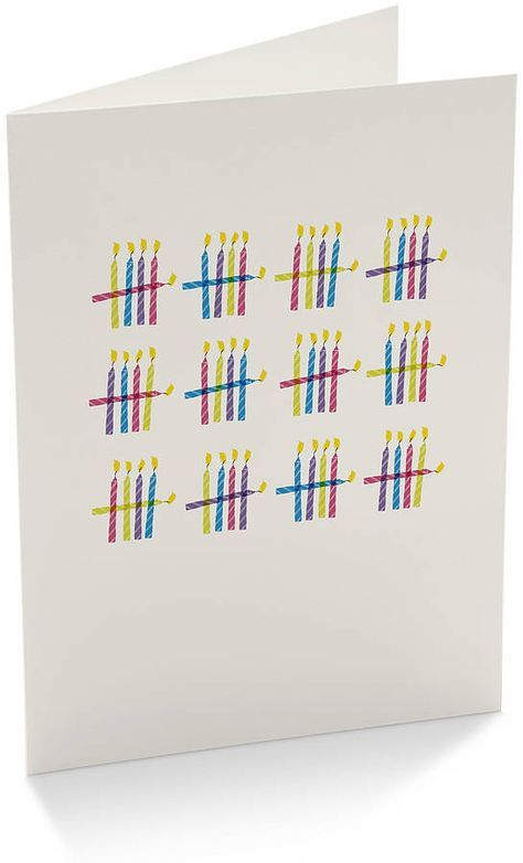 Karte zum 40. Geburtstag / BIrthday Card for a 40th birthday