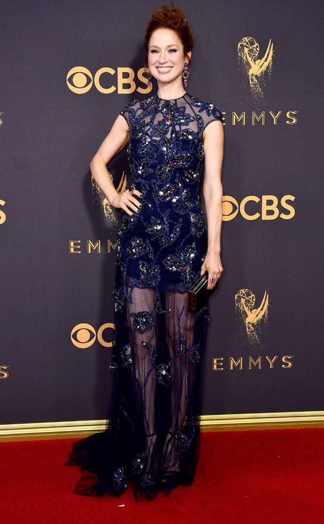 Ellie Kemper In Jenny Packham – 2017 Emmy Awards
