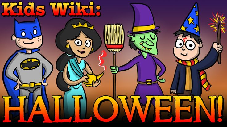 Happy Halloween! It's time for a Kids Wiki all about Halloween traditions, Halloween costumes, Halloween facts, and HALLOWEEN CANDY! So put on your costume a...
