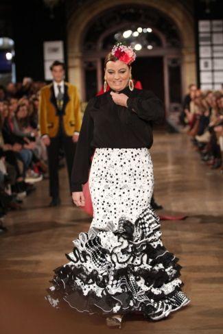 Traje de Flamenca - Pepe-Fernandez-Sevillania - We-Love-Flamenco-2016