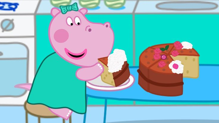Baby Cooking School: Learn to cook with Hippo kids games - Educational g...
