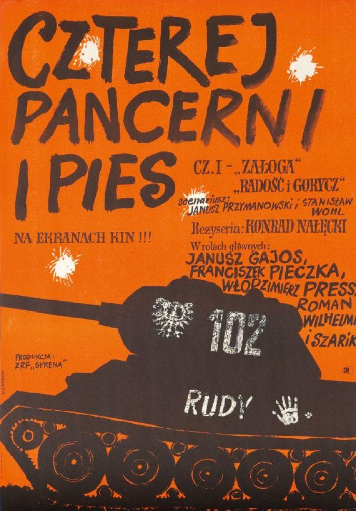 Marian Stachurski - Czterej pancerni i pies cz. I, 1967 r.