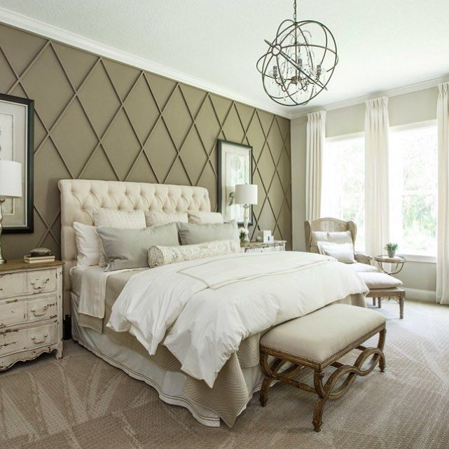 goodnight 💛cottagehomecompany taupe bedroom