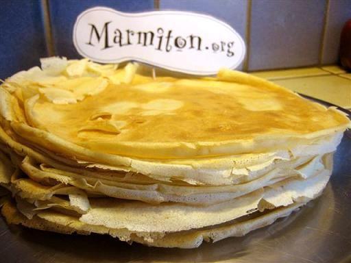 Pâte à crêpes : Recette de Pâte à crêpes - Marmiton