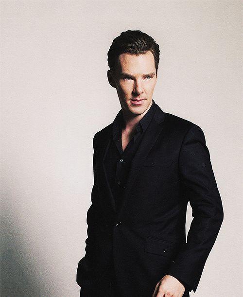 Benedict Cumberbatch is definitely model-material here... ;)