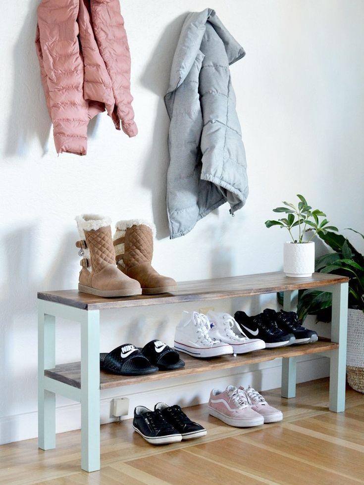 attractive bi fold closet doors diy shoe rack shoe rack on shoe rack wooden with door id=34001