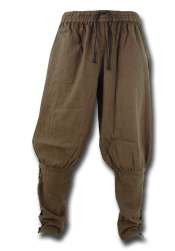 Viking Pants, brown - Trousers - Costumes