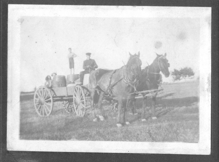 Horse and buggy days in Pictou County