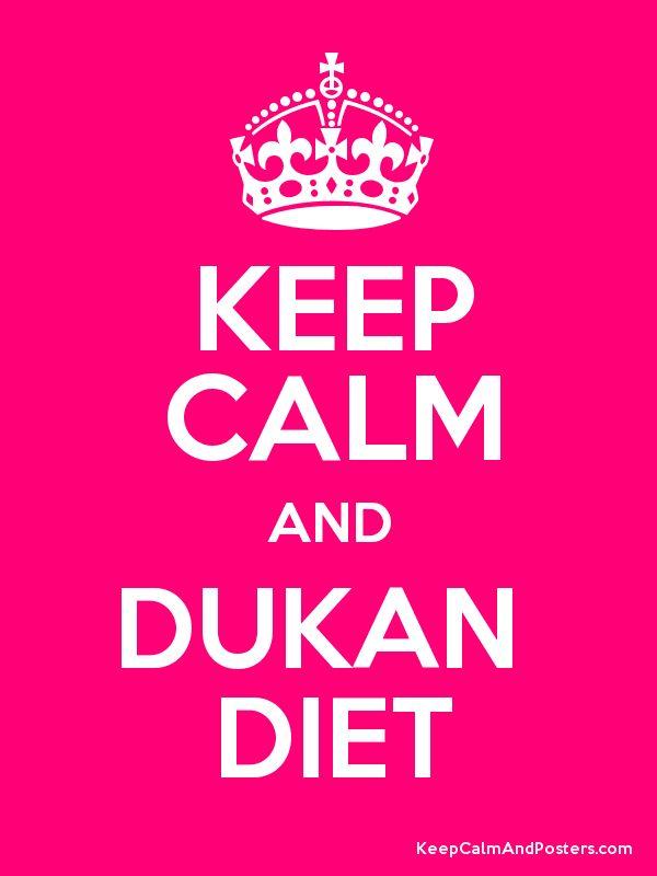 Keep calm & Dukan diet! :)