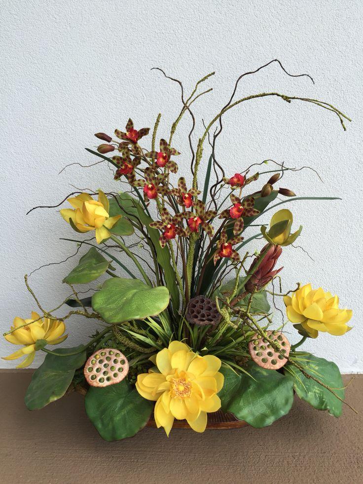 288 Best Silk Arrangements Images On Pinterest | Floral