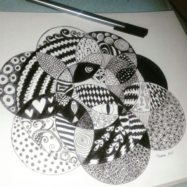 My very first doodle