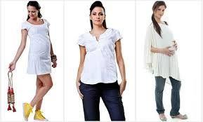 Resultado de imagem para roupas de gestante