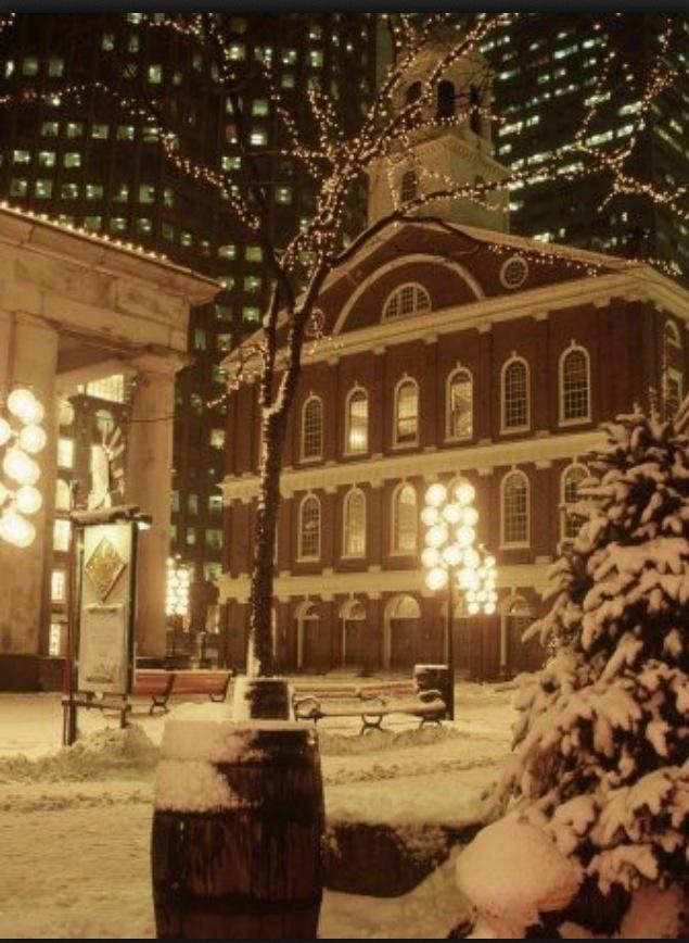 Quincy Market in Boston.