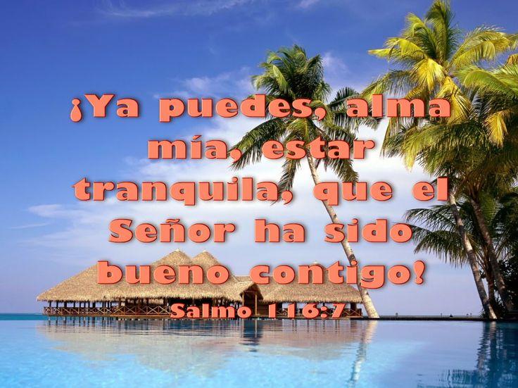 Biblia, paisajes y maravillas: Salmo 116:7