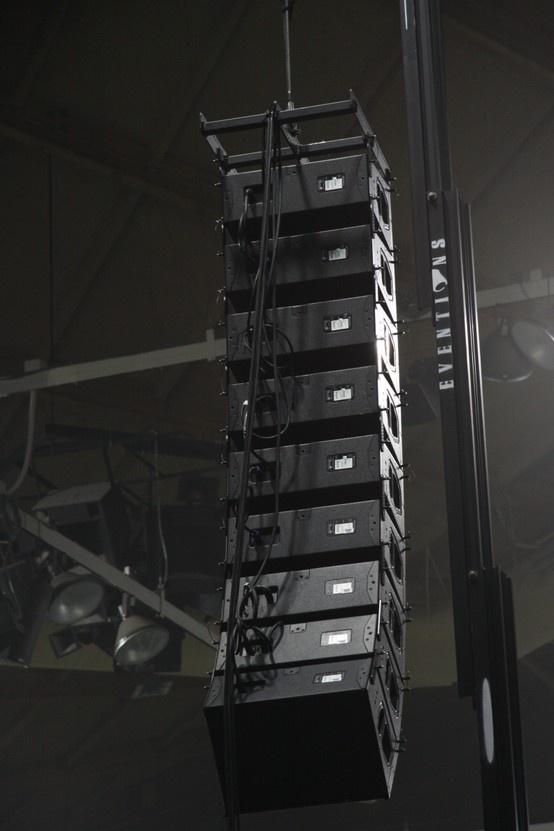 D Line Array Hang Audioevent Soundproduction Sound