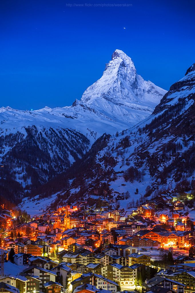 https://flic.kr/p/c5h6KC | Good night Matterhorn | Zermatt, Switzerland