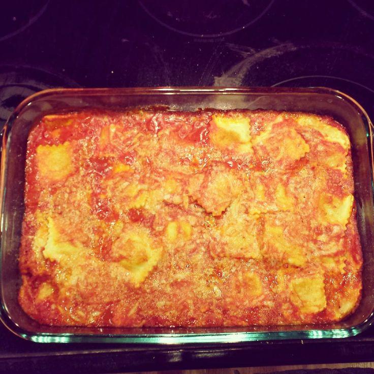 What's For Dinner: Baked Ravioli
