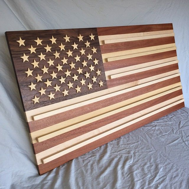 American Flag Coin Rack