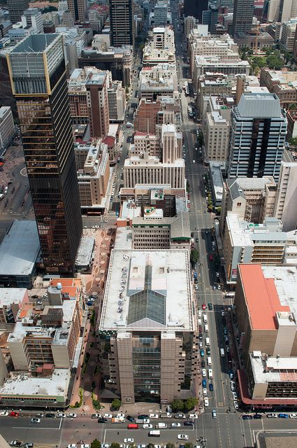 Johannesburg CBD converge by CobusN, via Flickr