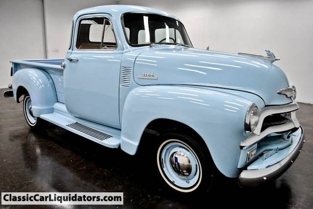 1954 Chevrolet Pickup 3100 5 Window
