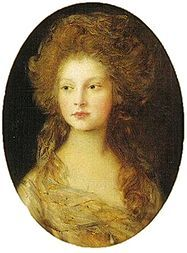 Princess Elizabeth (1770 - 1840). Daughter of King George III and Queen Charlotte. After her father went insane her mother insisted on keeping her daughters with her, and forbid them to marry. She was rumored to have secretly married George Ramus and had a daughter with him, although it would have been illegal for her to do this. She married Frederick of Hesse-Homburg in 1818 to get away from her restricted life.