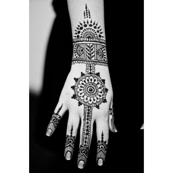 henna tattoo selber machen 40 designs liked on polyvore. Black Bedroom Furniture Sets. Home Design Ideas