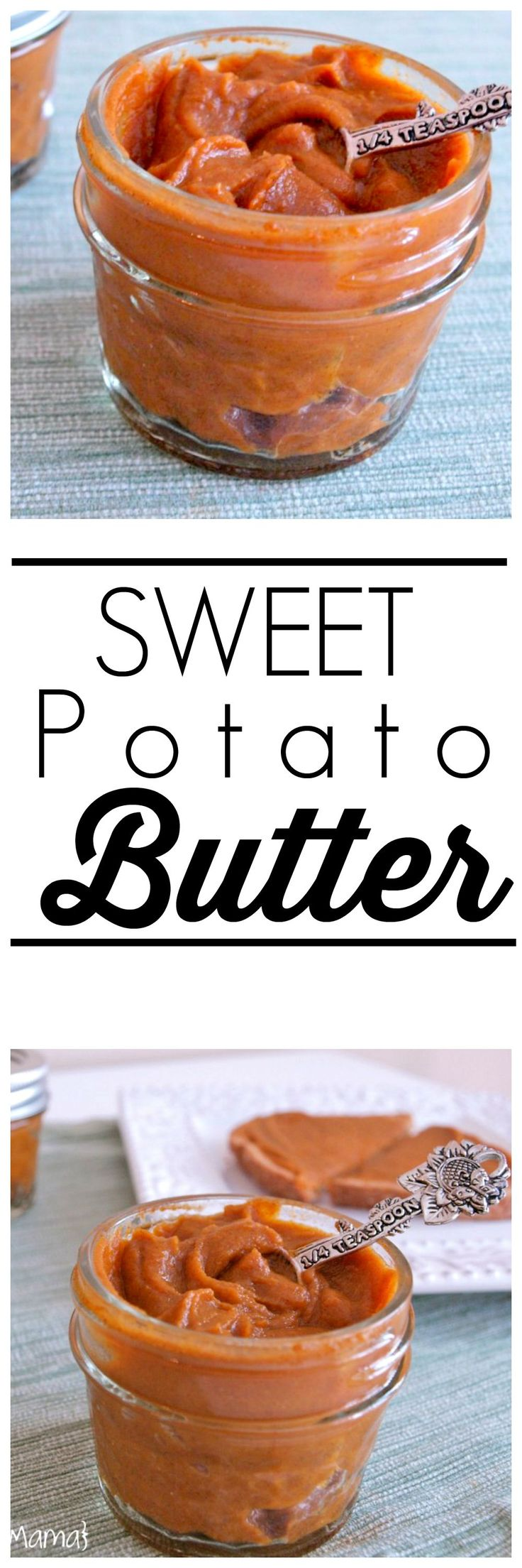 This Sweet Potato Butter recipe is super easy and so nutritious!  This is delicious spread on toast or even fruit.  Why not spread some veggies on your toast?!