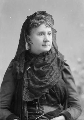 Belva Lockwood, ca. 1890s (Library of Congress).  From essay on women and the supreme court--excellent